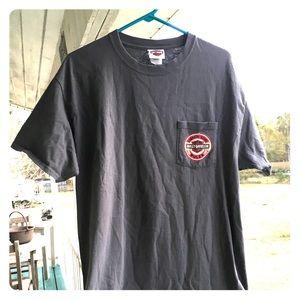 Harley Davidson Pocket Graphic T-Shirt Large